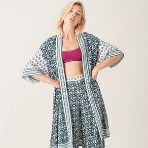 Tigerlily Odia Kimono Green NWT